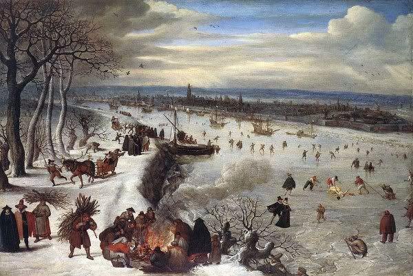 Антверпен в летнее время в 1816 году