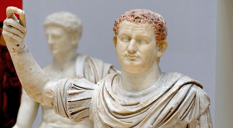 Скульптура римского императора Веспасина